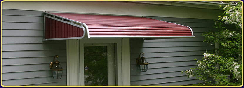 Aluminum Door Awnings Zank Co